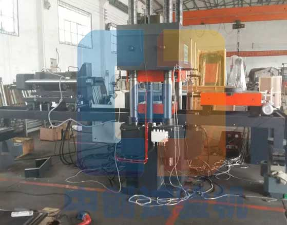 1000T电液伺服橡胶支座压剪试验机