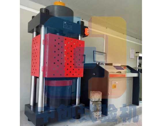 YAW-2000水泥块压力试验机