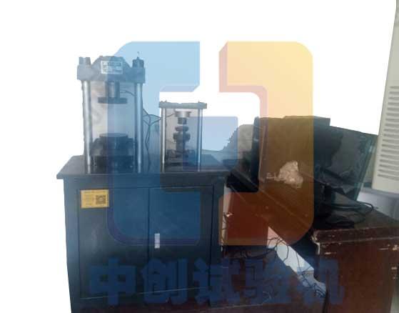 YAW-300C全自动水泥抗压试验机